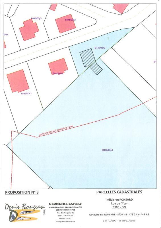 Image 9 : Terrain à bâtir à 6900 MARCHE-EN-FAMENNE (Belgique) - Prix 79.000 €