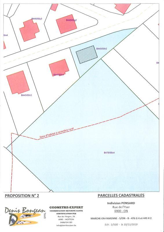 Image 10 : Terrain à bâtir à 6900 MARCHE-EN-FAMENNE (Belgique) - Prix 79.000 €
