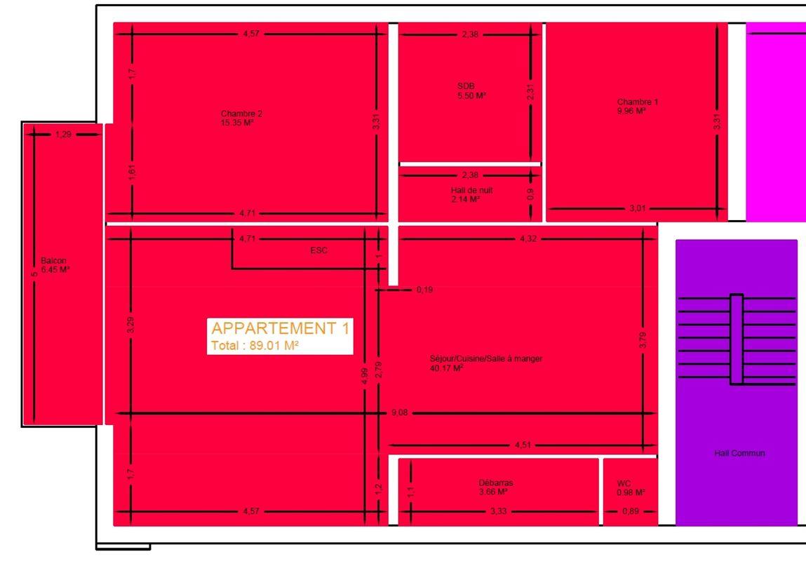 Image 14 : Appartement à 6900 MARLOIE (Belgique) - Prix 149.000 €
