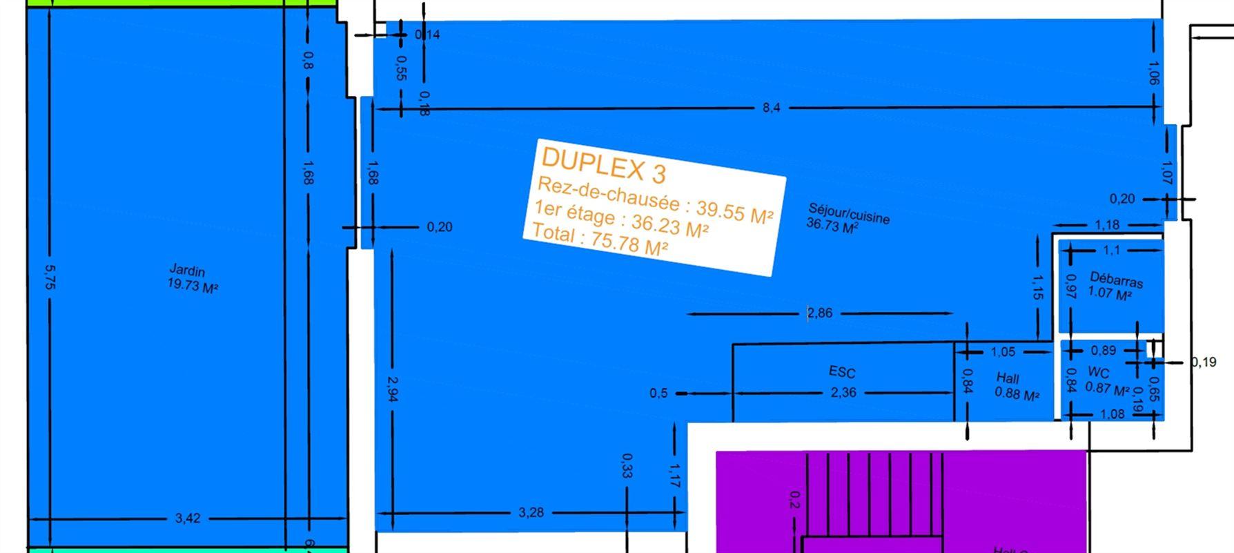 Image 16 : Duplex à 6900 MARLOIE (Belgique) - Prix 145.000 €