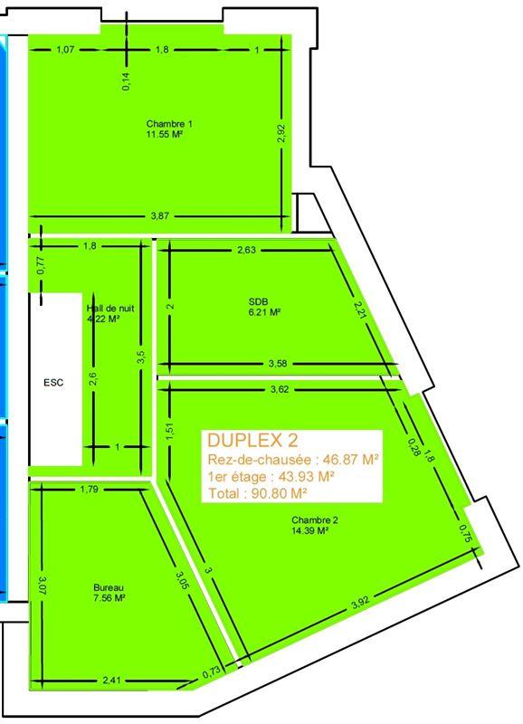 Image 10 : Duplex à 6900 MARLOIE (Belgique) - Prix 160.000 €