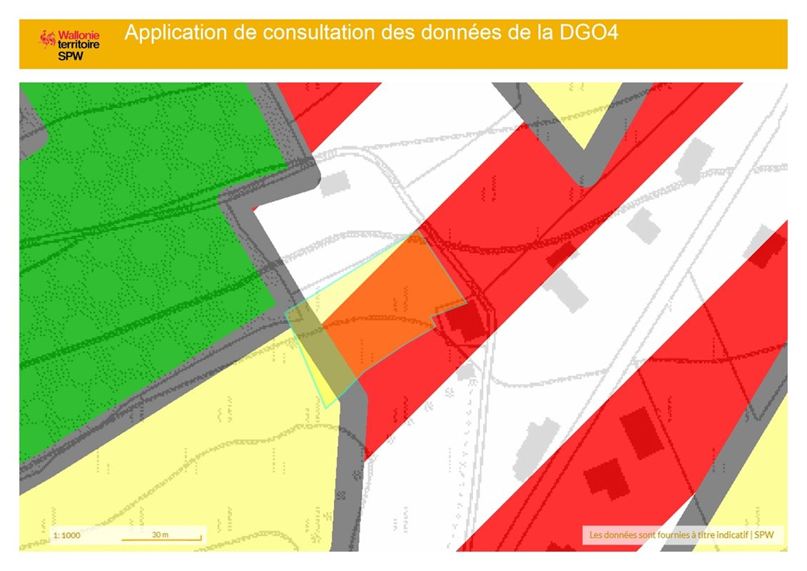 Image 10 : Terrain à bâtir à 5377 BAILLONVILLE (Belgique) - Prix 88.000 €