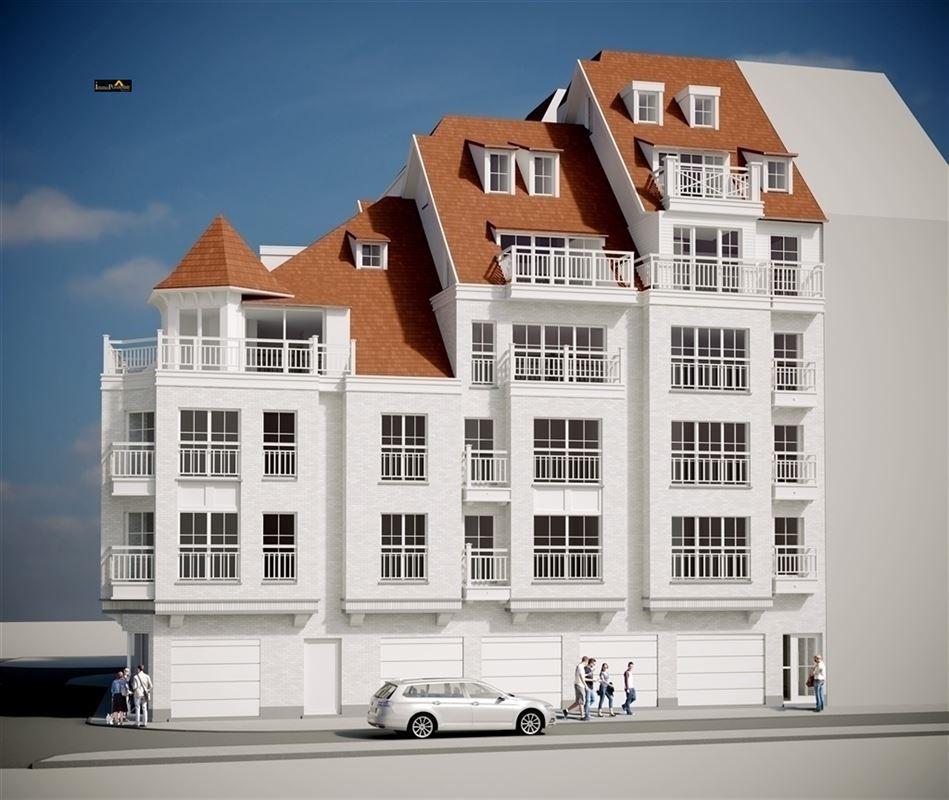 Duplex/Penthouse te koop neiuwbouw te koop te BLANKENBERGE (8370)