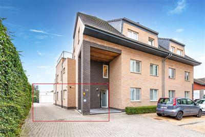 Recent gelijkvloers appartement met 2 slpks in Berlaar