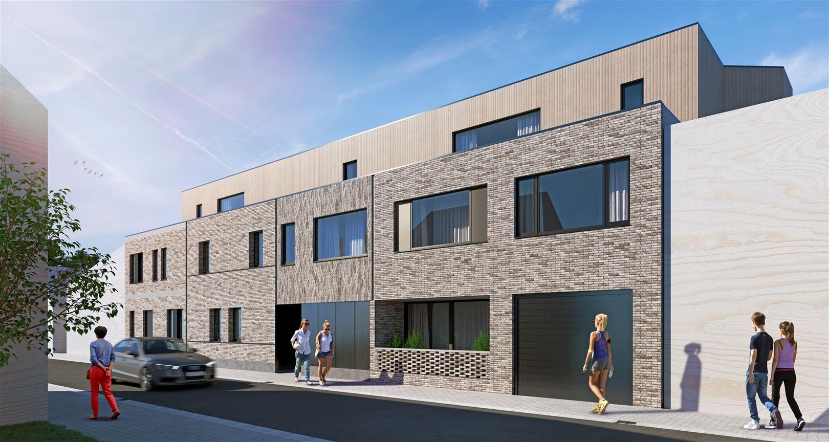 Foto  : Nieuwbouw Residentie Kastelaar te MOERZEKE (9220) - Prijs Van € 213.000 tot € 244.200