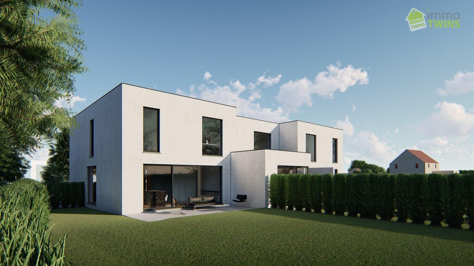 Foto  : Nieuwbouw Nieuwbouw Brandstraat te BUGGENHOUT (9255) - Prijs Van € 364.800 tot € 407.500