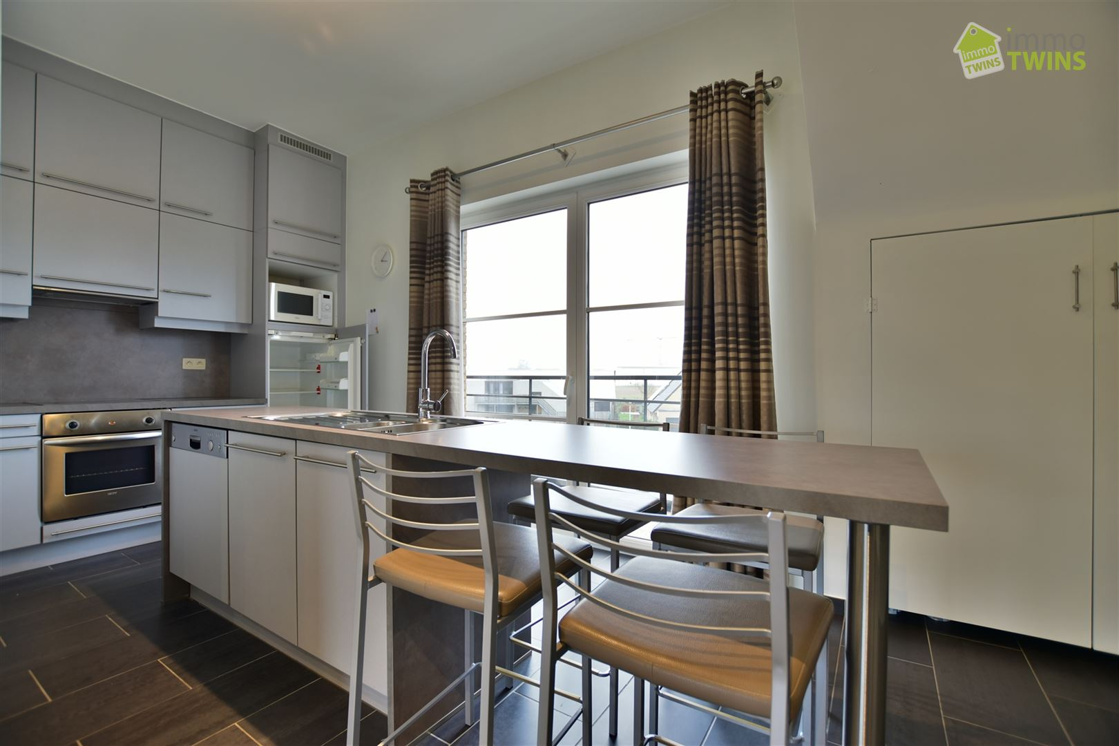Foto 10 : Appartement te 9200 BAASRODE (België) - Prijs € 650