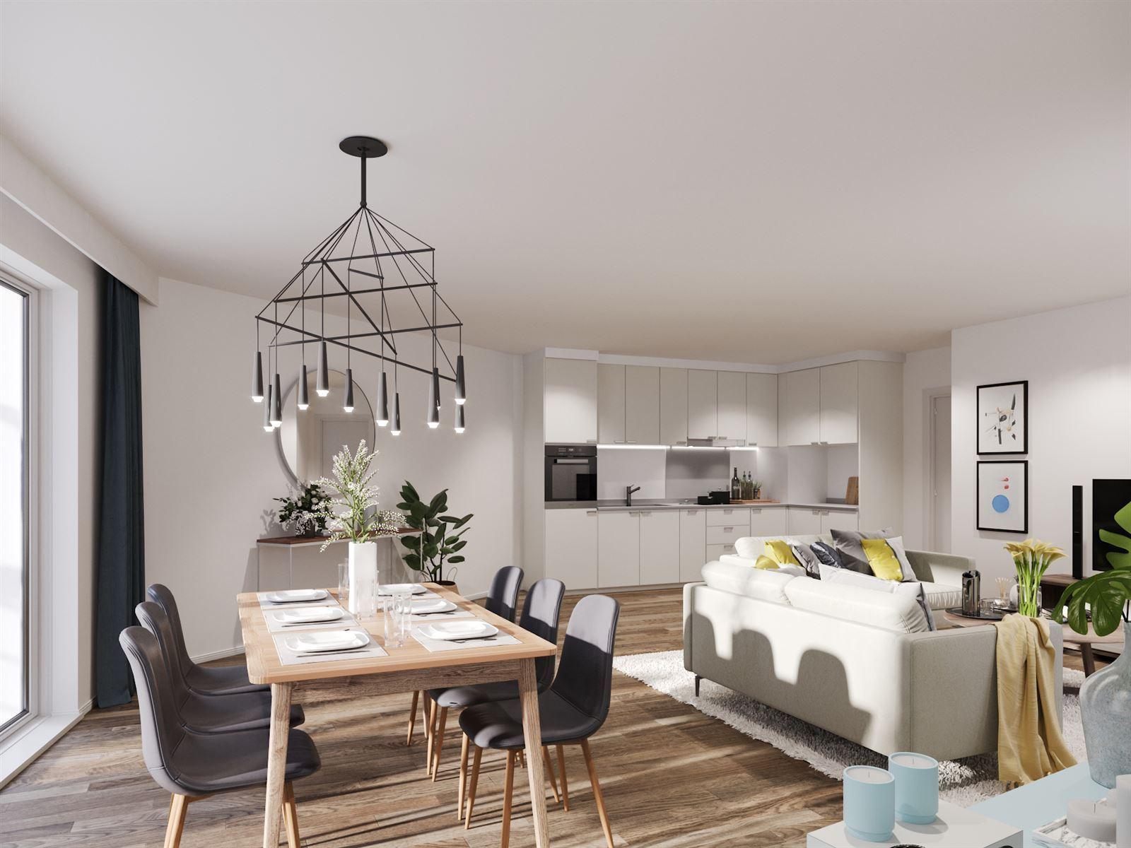 FOTO'S 4 : Appartement te 1500 HALLE (België) - Prijs € 253.000