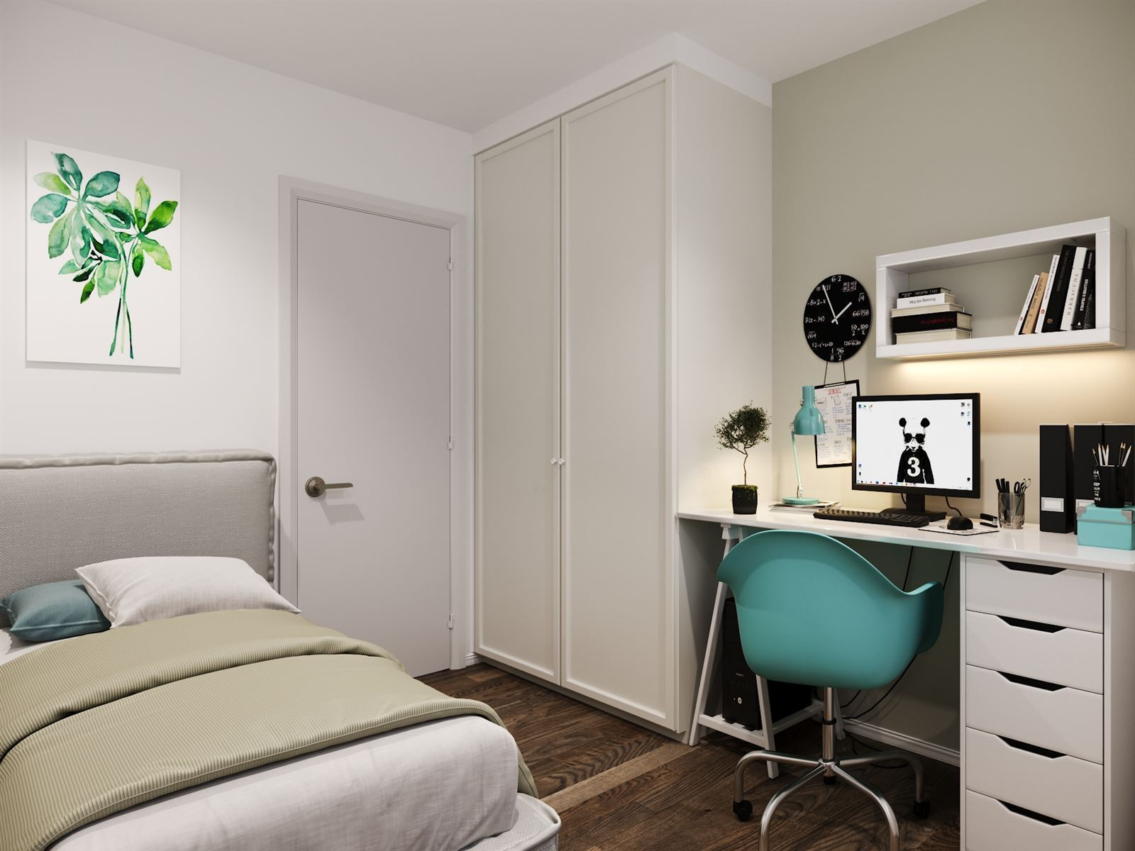 FOTO'S 3 : Appartement te 1495 HALLE (België) - Prijs € 256.000