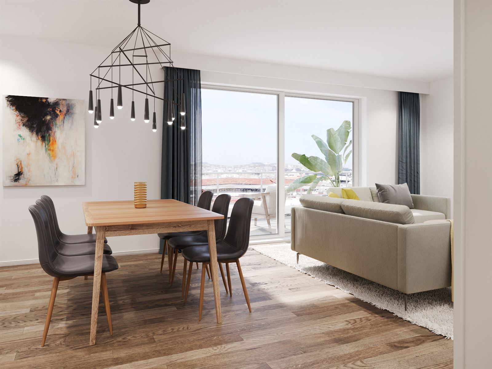 FOTO'S 8 : Appartement te 1500 HALLE (België) - Prijs € 253.000