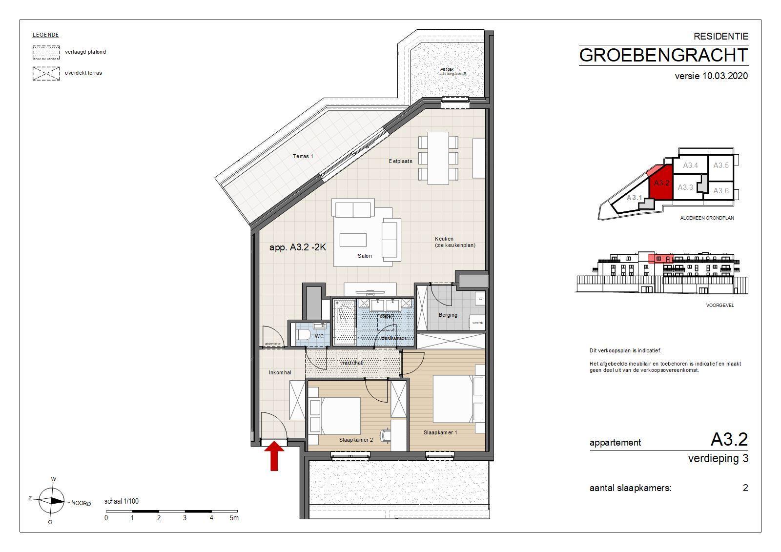 FOTO'S 3 : Appartement te 1500 HALLE (België) - Prijs € 305.000