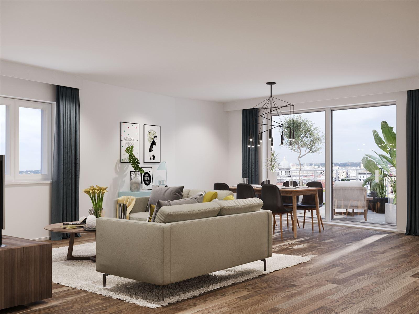 FOTO'S 4 : Appartement te 1500 HALLE (België) - Prijs € 305.000
