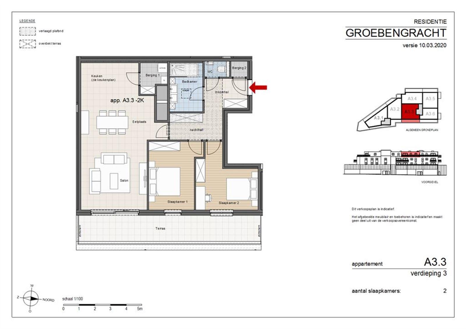 FOTO'S 1 : Appartement te 1500 HALLE (België) - Prijs € 280.443
