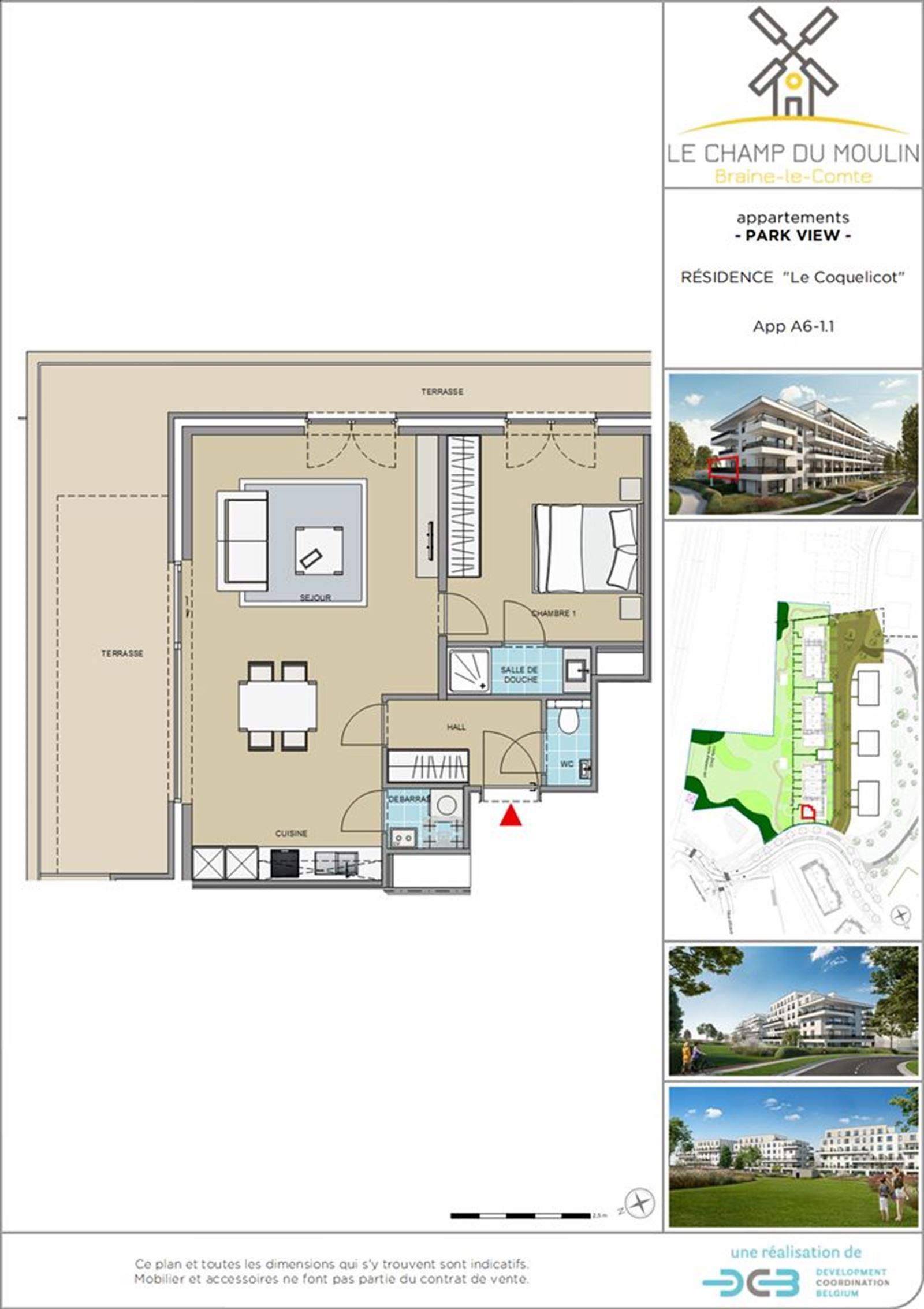 PHOTOS 1 : Appartement à 7090 BRAINE-LE-COMTE (Belgique) - Prix 167.500 €