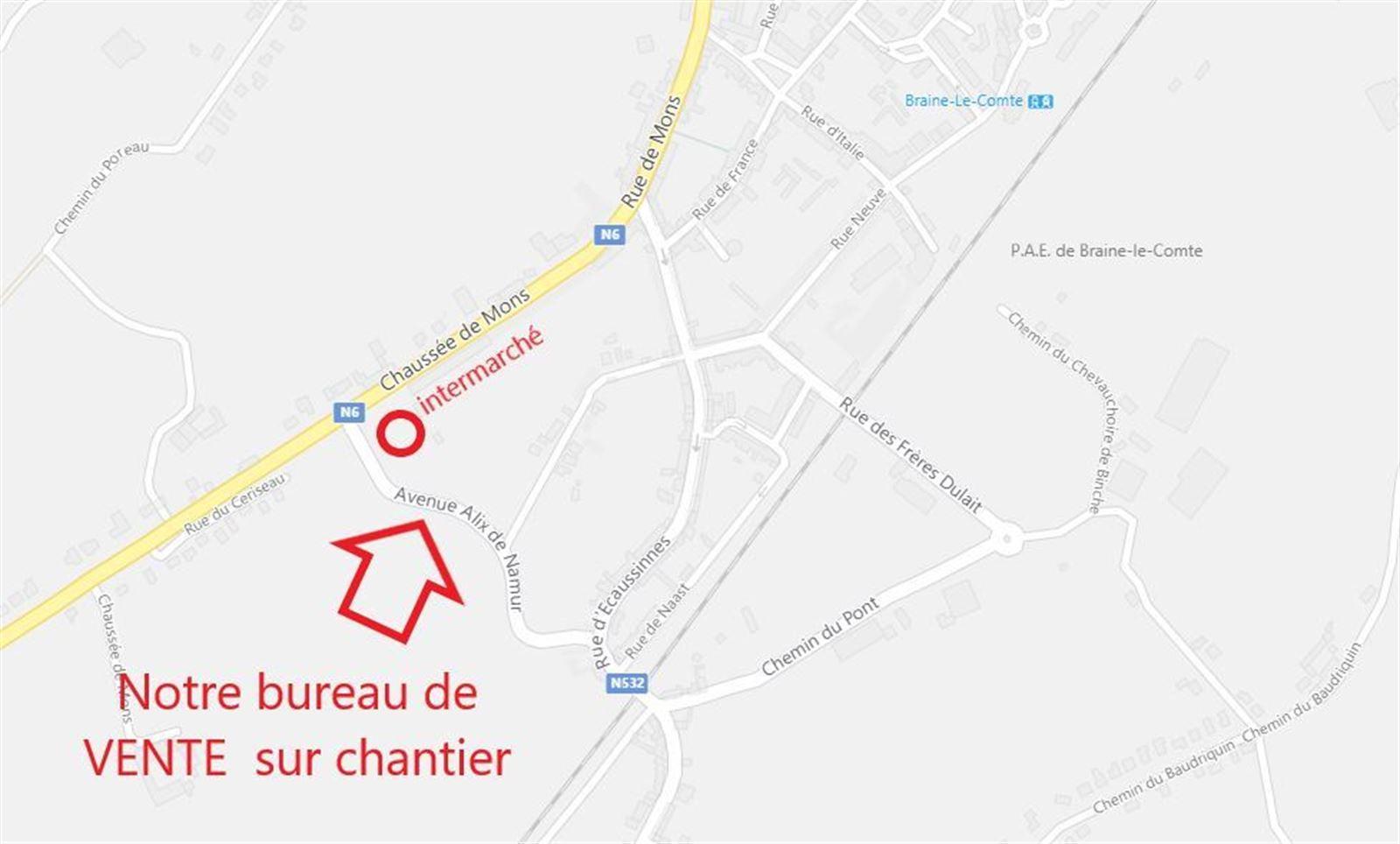 PHOTOS 4 : Appartement à 7090 BRAINE-LE-COMTE (Belgique) - Prix 169.500 €