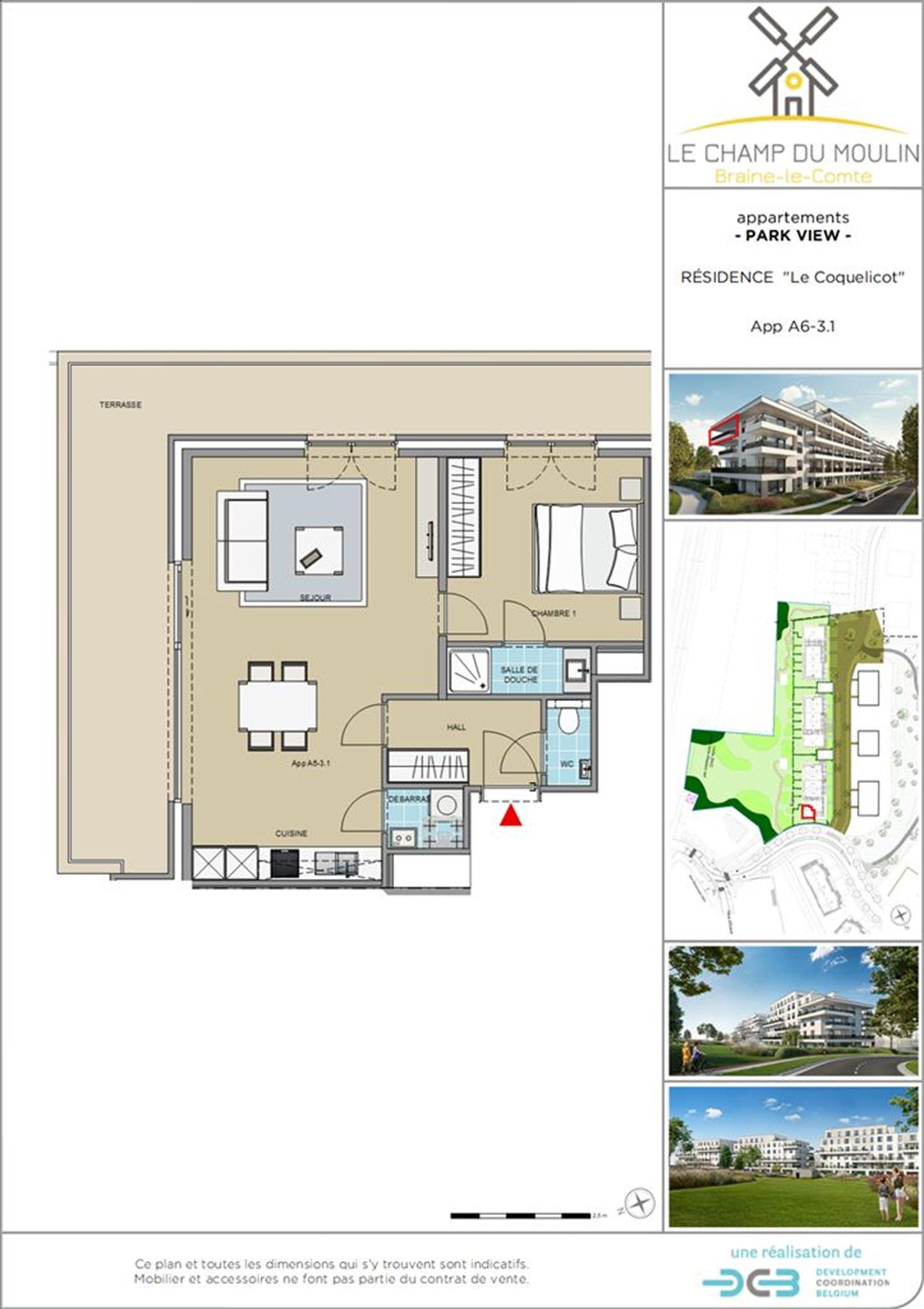 PHOTOS 1 : Appartement à 7090 BRAINE-LE-COMTE (Belgique) - Prix 169.500 €
