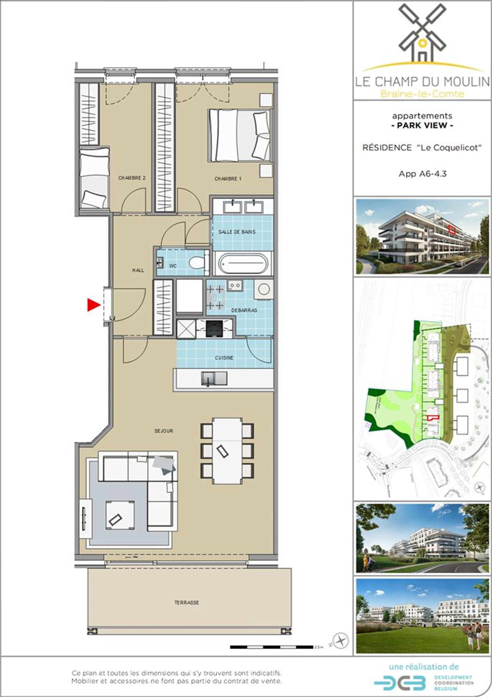 PHOTOS 1 : Appartement à 7090 BRAINE-LE-COMTE (Belgique) - Prix 211.500 €