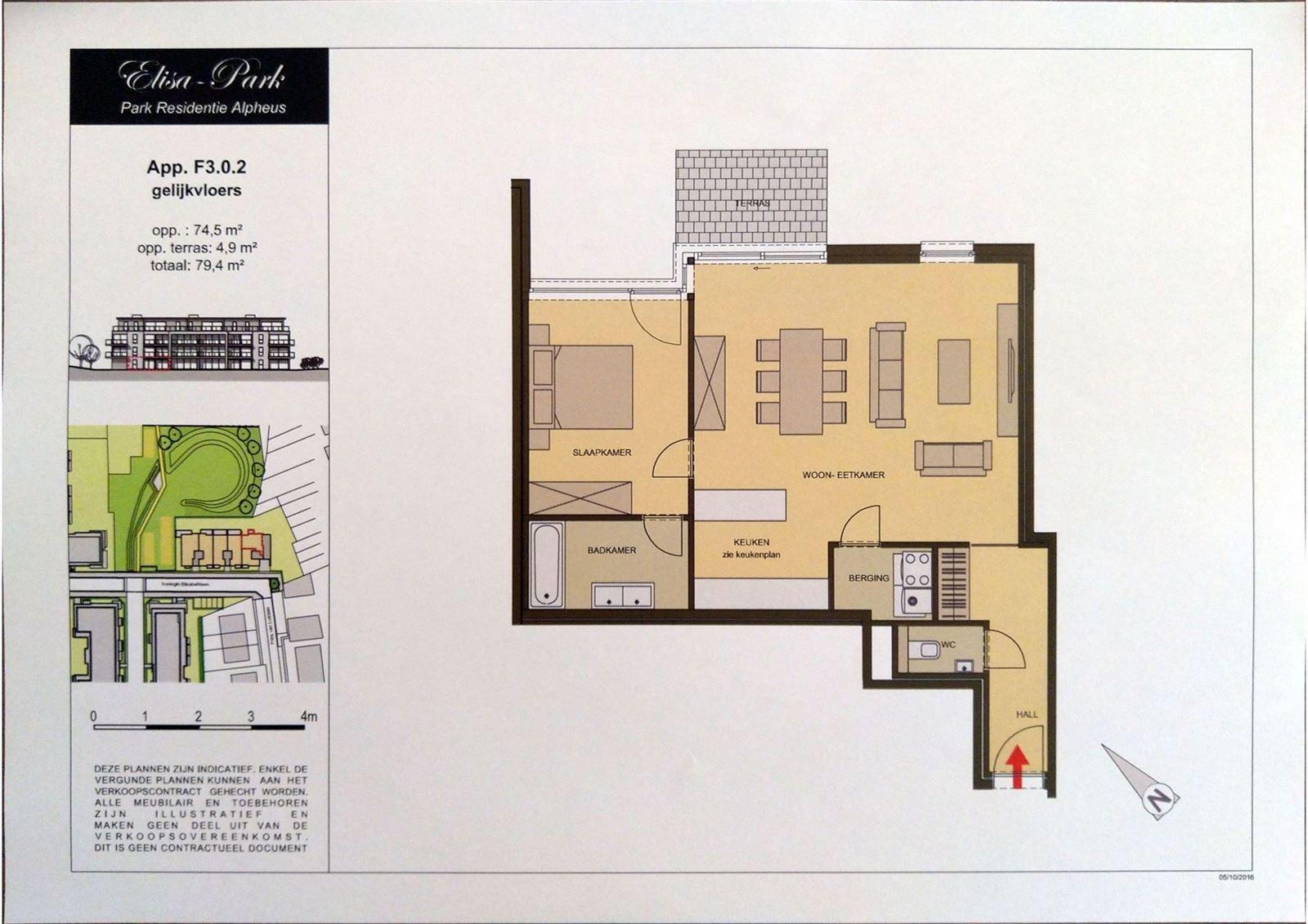 FOTO'S 17 : Appartement te 1500 HALLE (België) - Prijs € 199.500