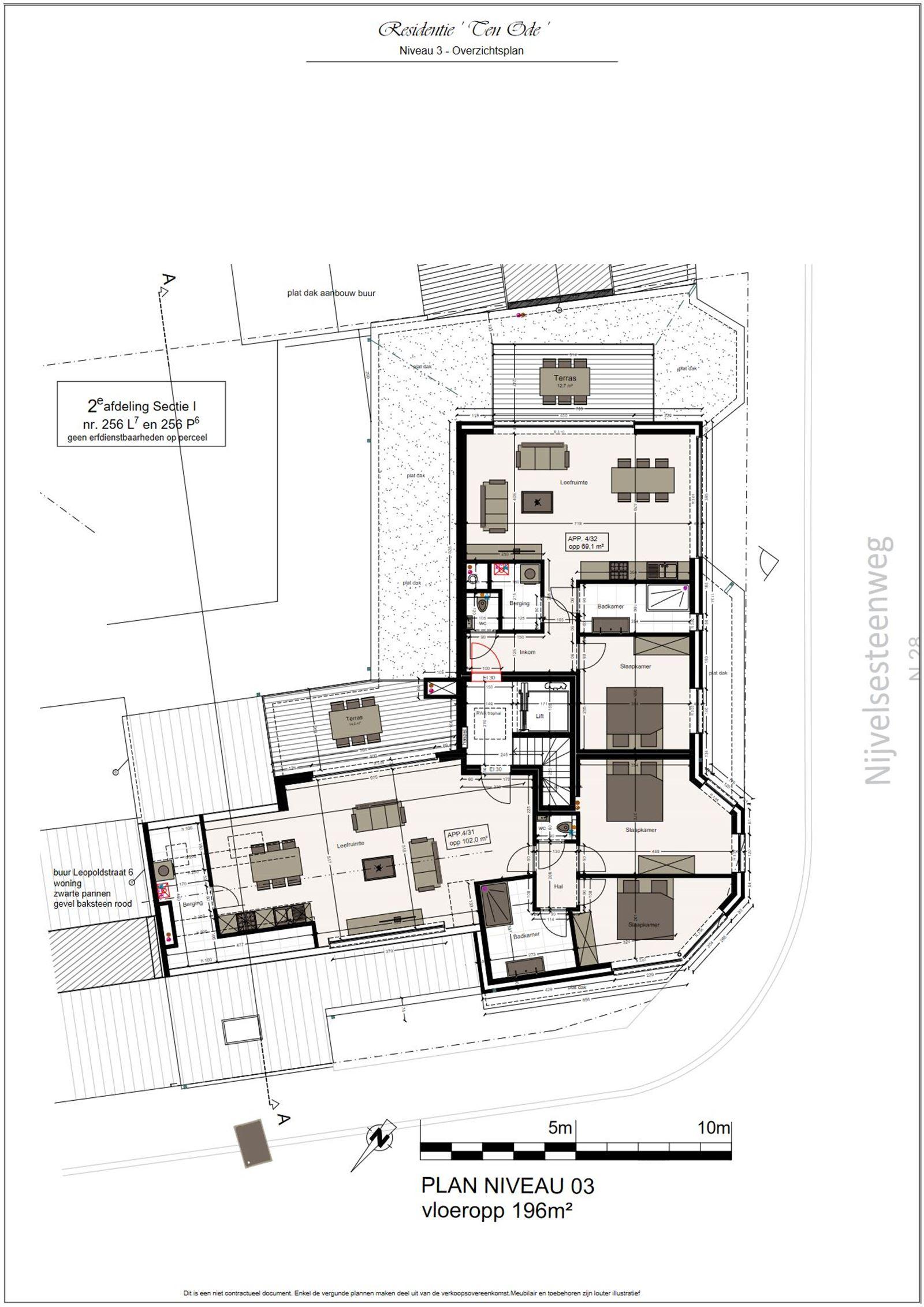 FOTO'S 2 : Appartement te 1500 HALLE (België) - Prijs € 219.900