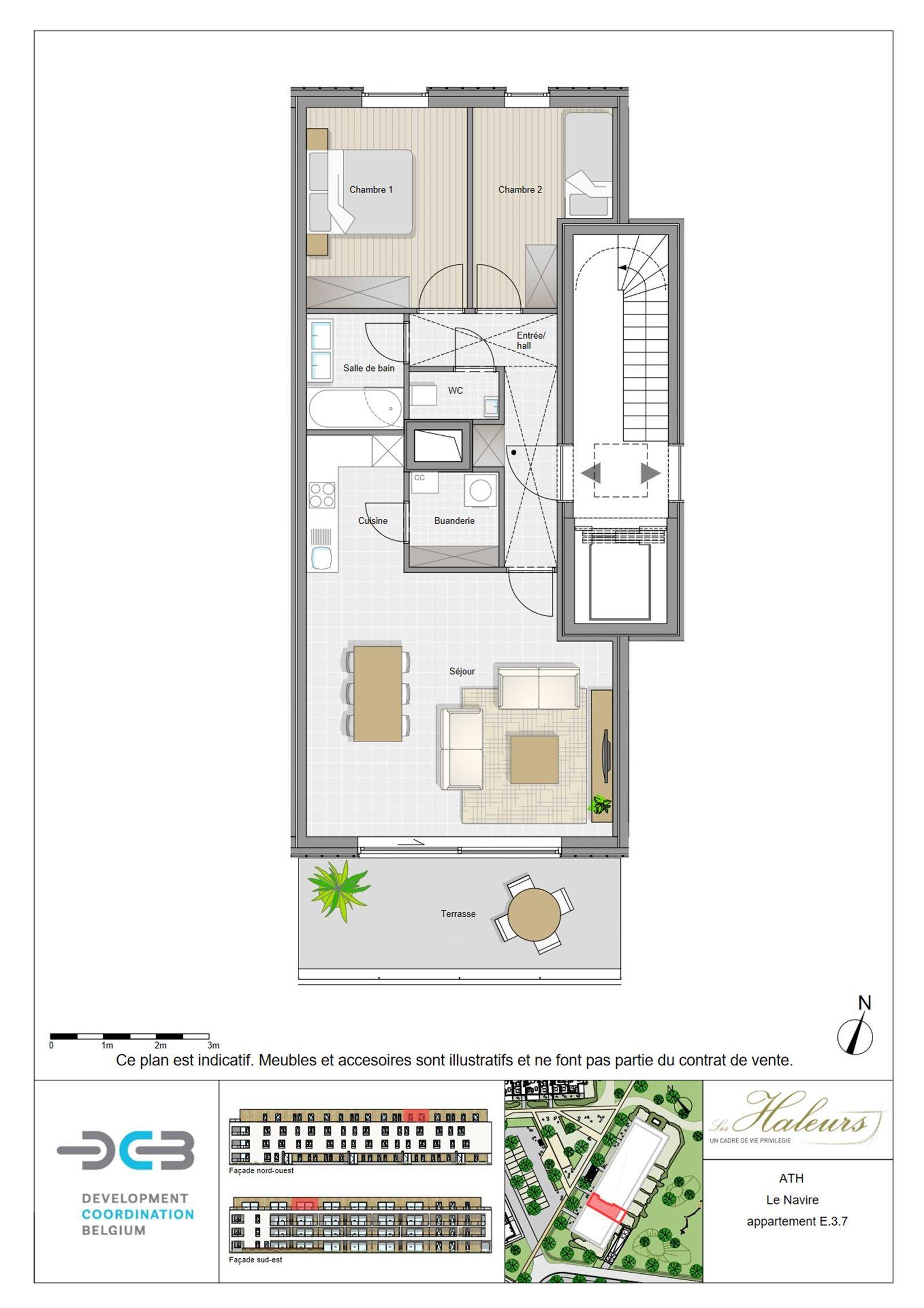 FOTO'S 5 : Appartement te 7800 ATH (België) - Prijs € 185.500