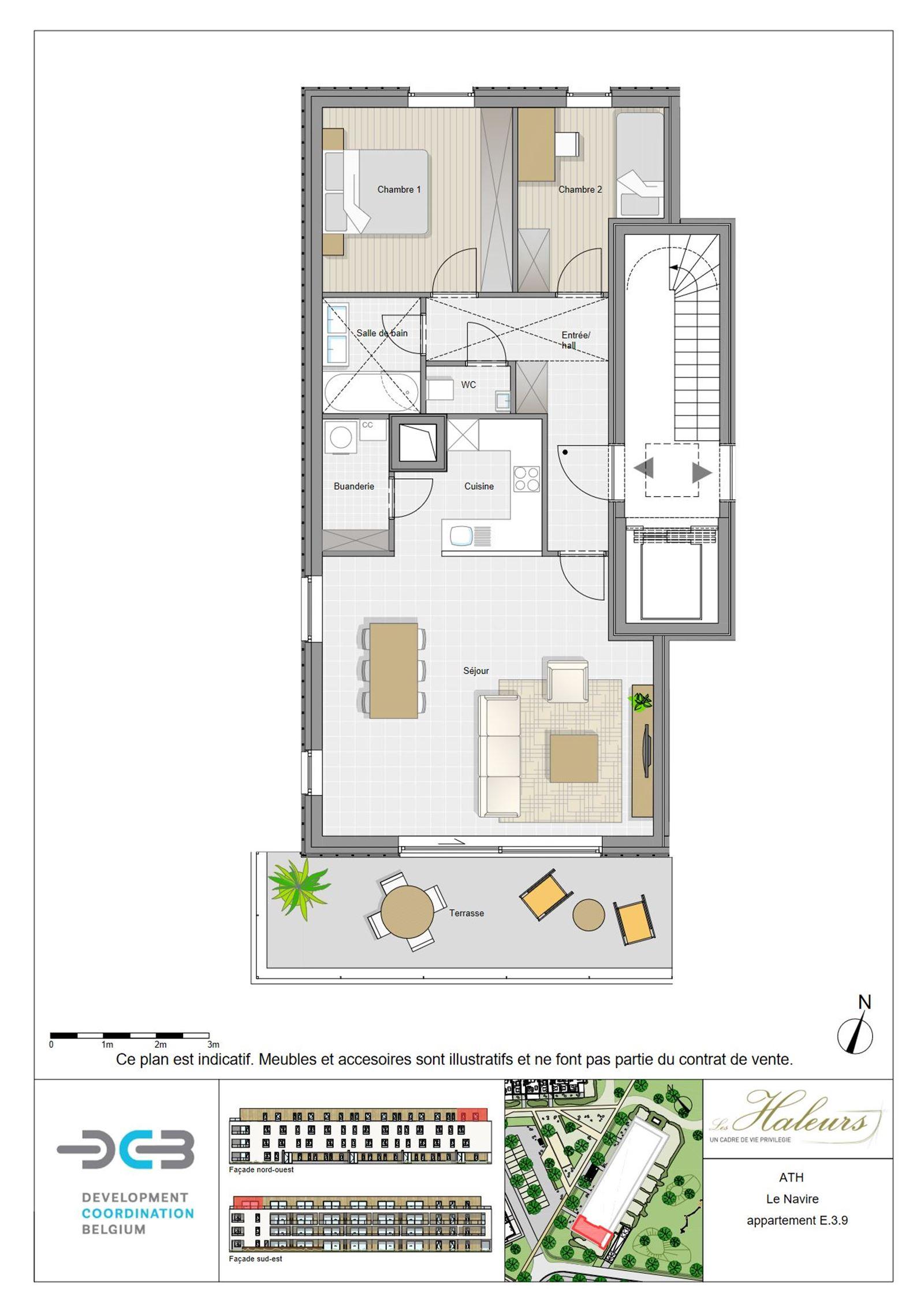 FOTO'S 5 : Appartement te 7800 ATH (België) - Prijs € 218.500