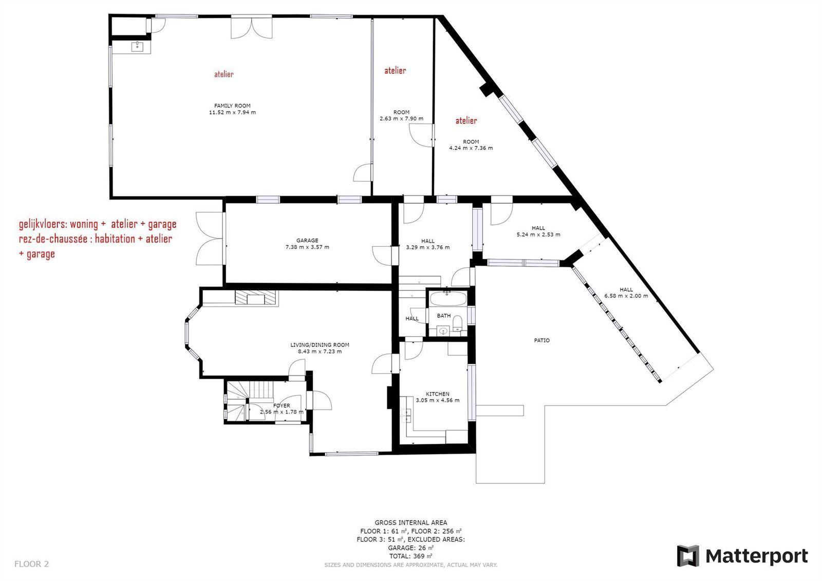 FOTO'S 6 : Appartementsgebouw te 1650 BEERSEL (België) - Prijs € 535.000