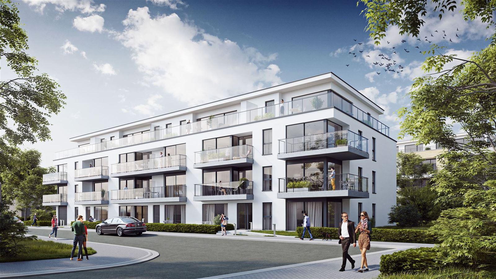 FOTO'S 1 : Appartement te 1500 HALLE (België) - Prijs € 940