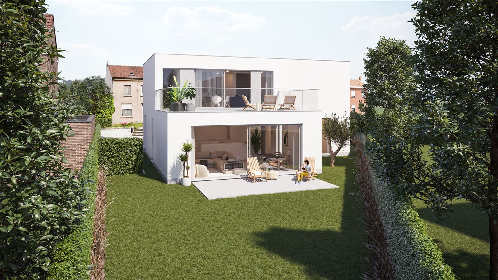FOTO'S 2 : Appartement te 1755 OETINGEN (België) - Prijs € 289.000
