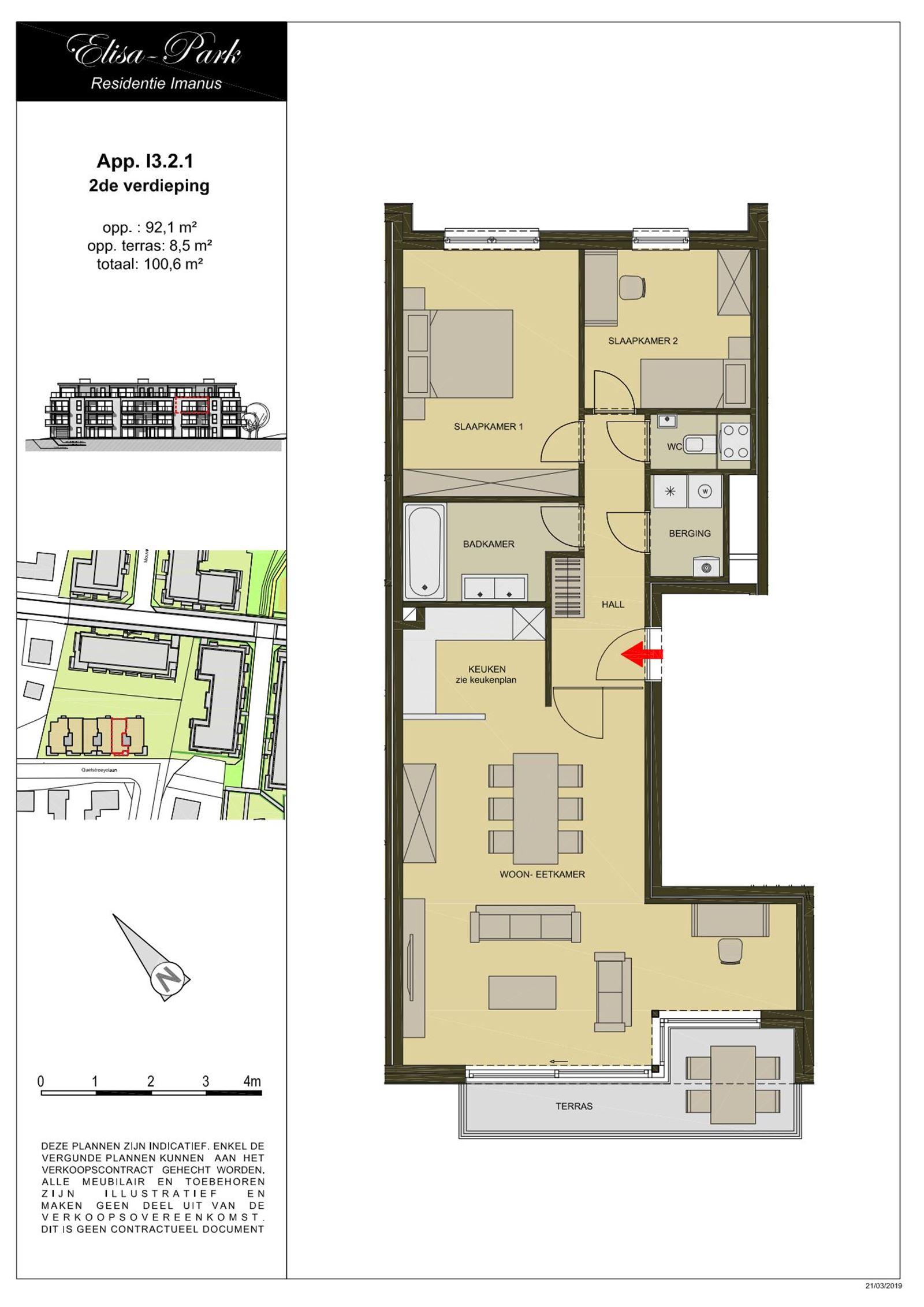 FOTO'S 11 : Appartement te 1500 HALLE (België) - Prijs € 930