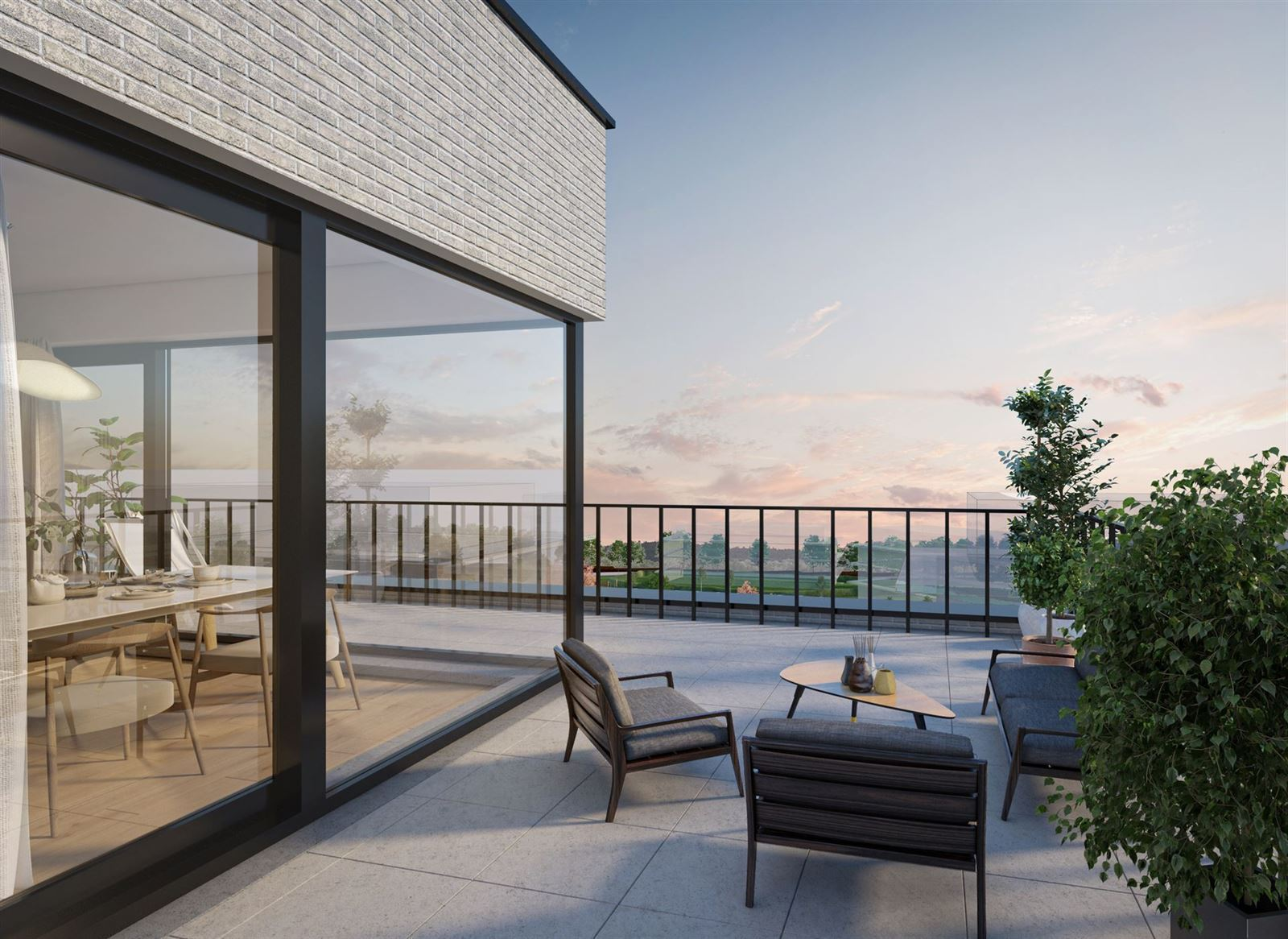 FOTO'S 11 : Appartement te 7090 BRAINE-LE-COMTE (België) - Prijs € 213.900