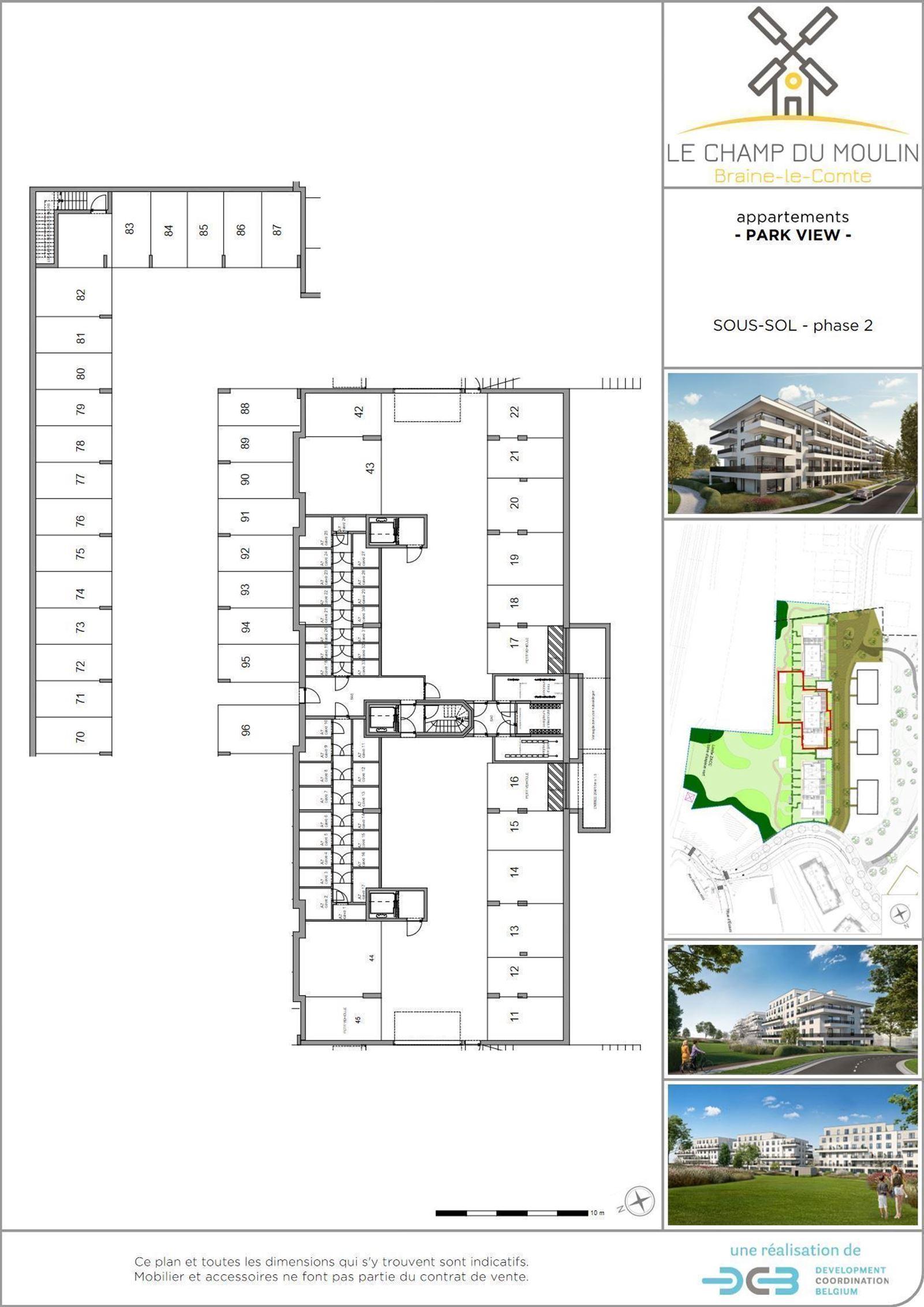 FOTO'S 14 : Appartement te 7090 BRAINE-LE-COMTE (België) - Prijs € 213.900