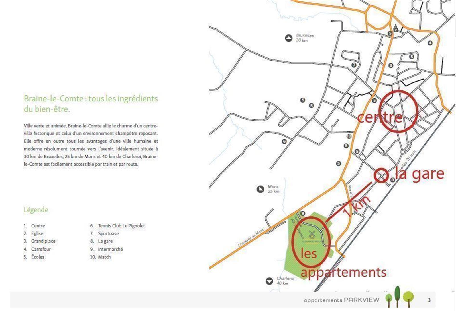 FOTO'S 4 : Appartement te 7090 BRAINE-LE-COMTE (België) - Prijs € 215.900