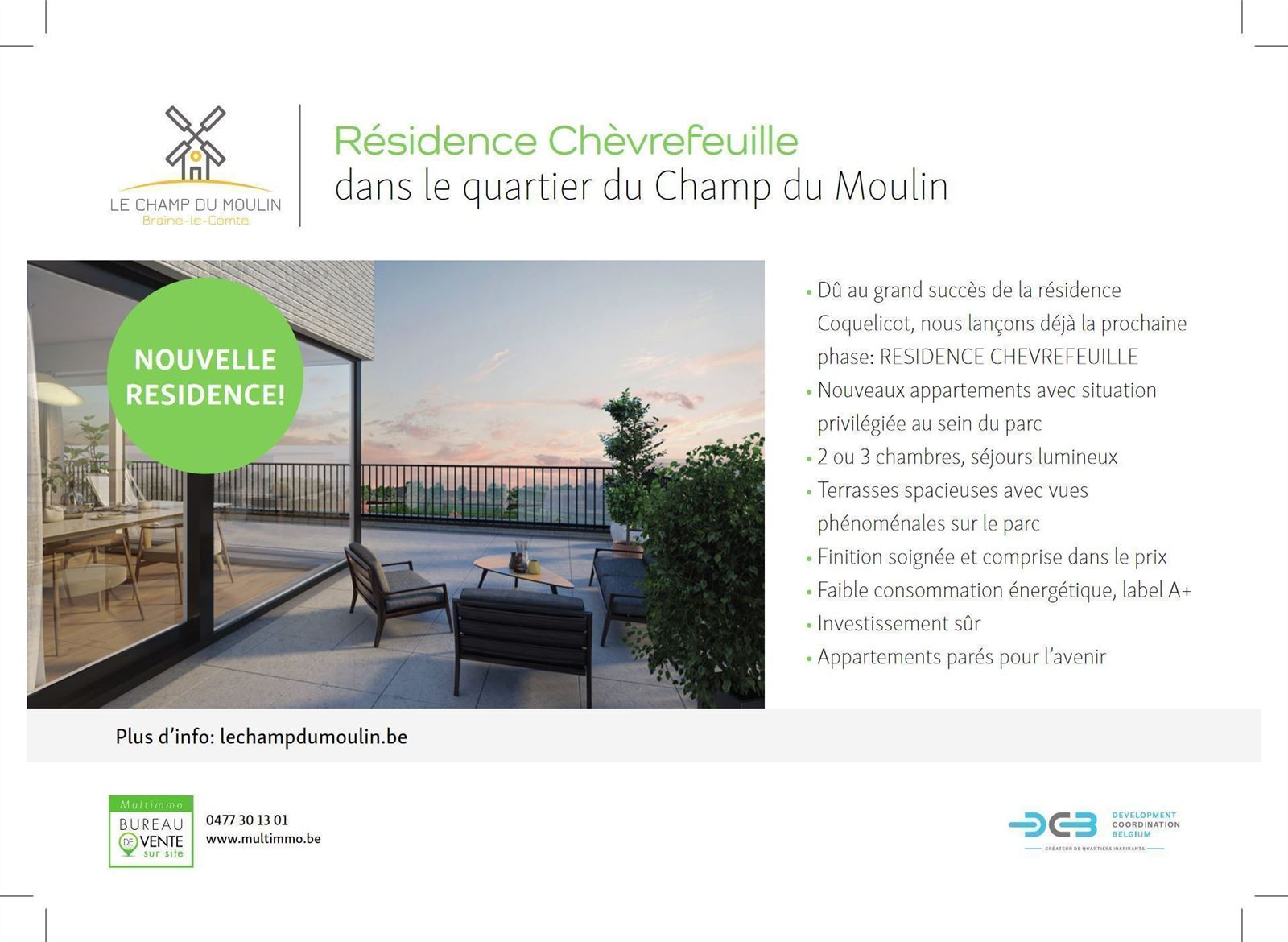 FOTO'S 5 : Appartement te 7090 BRAINE-LE-COMTE (België) - Prijs € 212.900