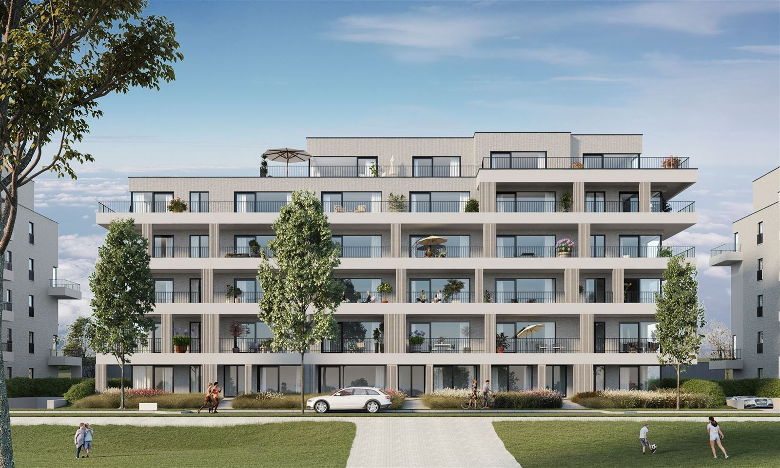 PHOTOS 7 : Appartement à 7090 BRAINE-LE-COMTE (Belgique) - Prix 218.900 €