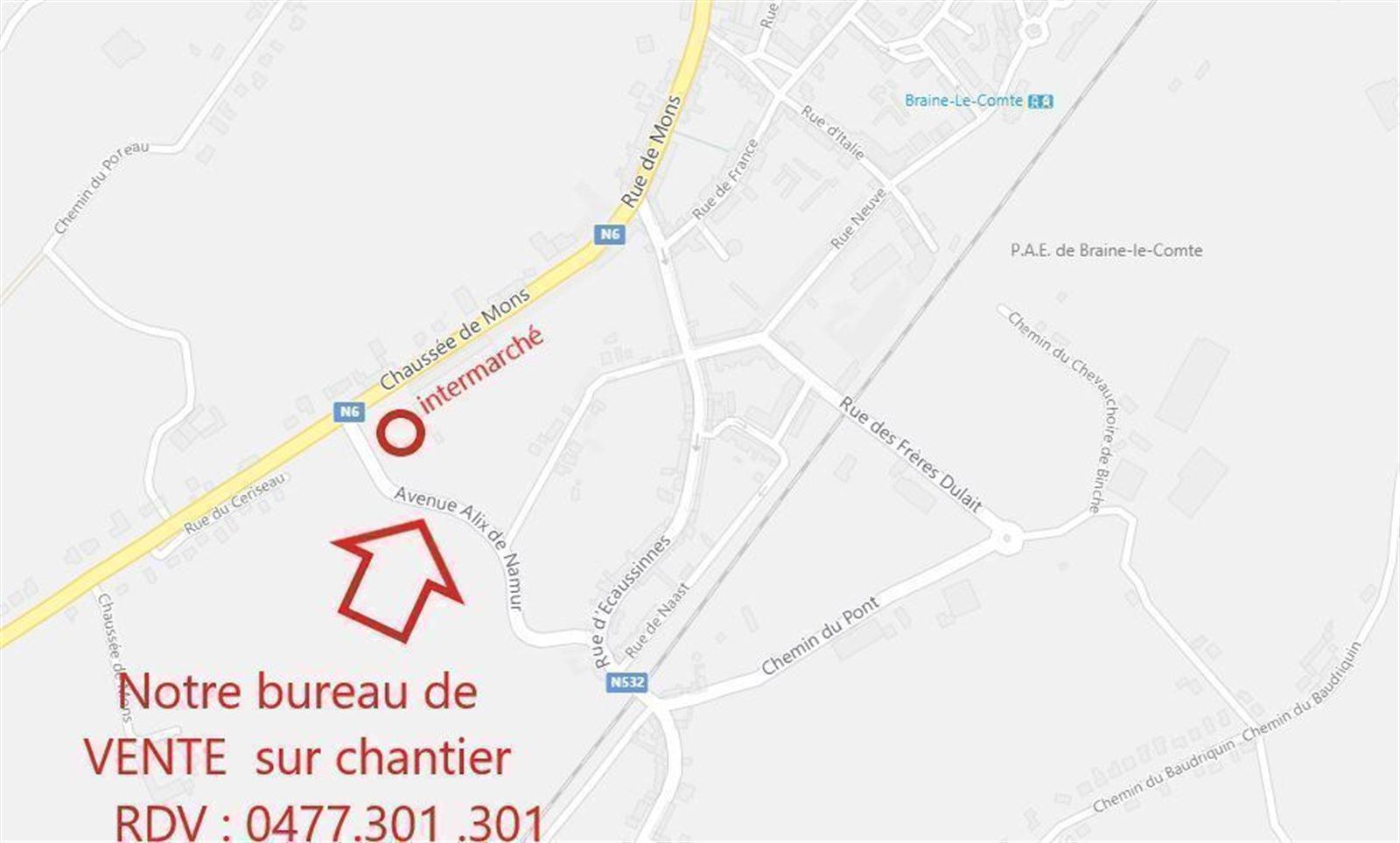 FOTO'S 3 : Appartement te 7090 BRAINE-LE-COMTE (België) - Prijs € 213.900