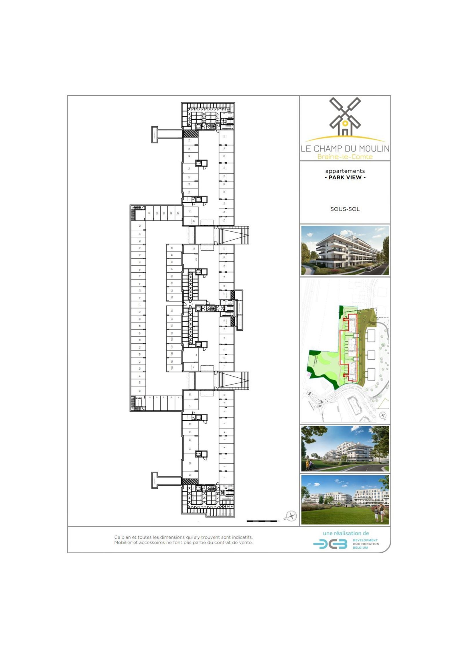 FOTO'S 15 : Appartement te 7090 BRAINE-LE-COMTE (België) - Prijs € 212.900