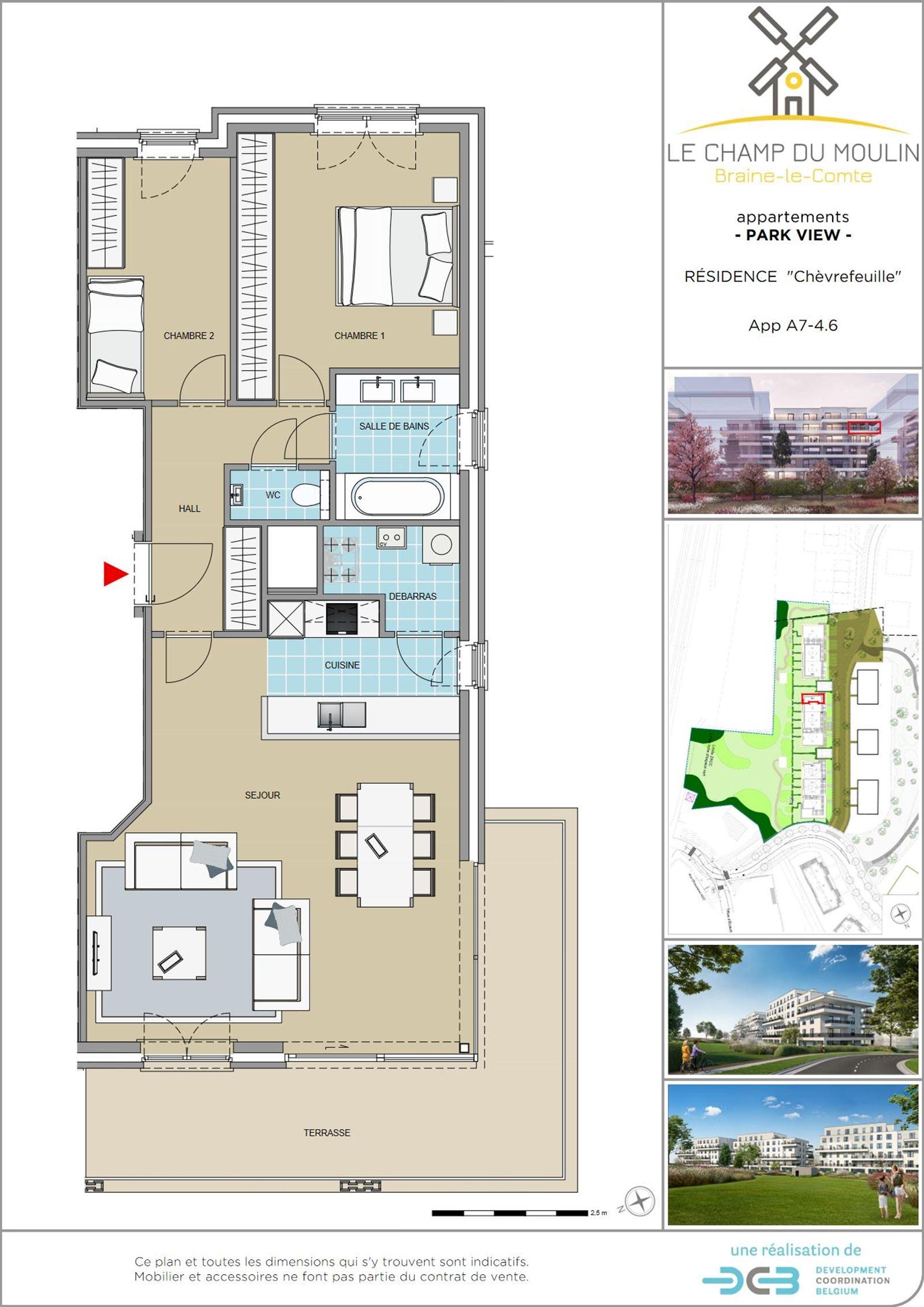 PHOTOS 1 : Appartement à 7090 BRAINE-LE-COMTE (Belgique) - Prix 244.900 €