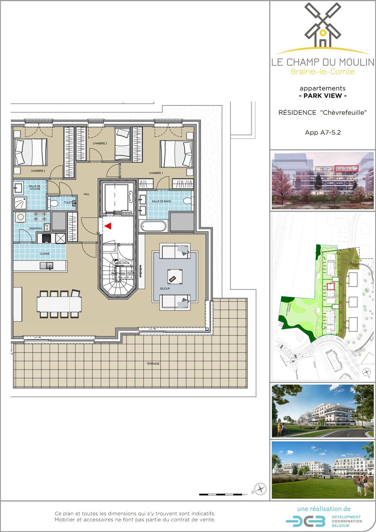 PHOTOS 1 : Appartement à 7090 BRAINE-LE-COMTE (Belgique) - Prix 344.900 €