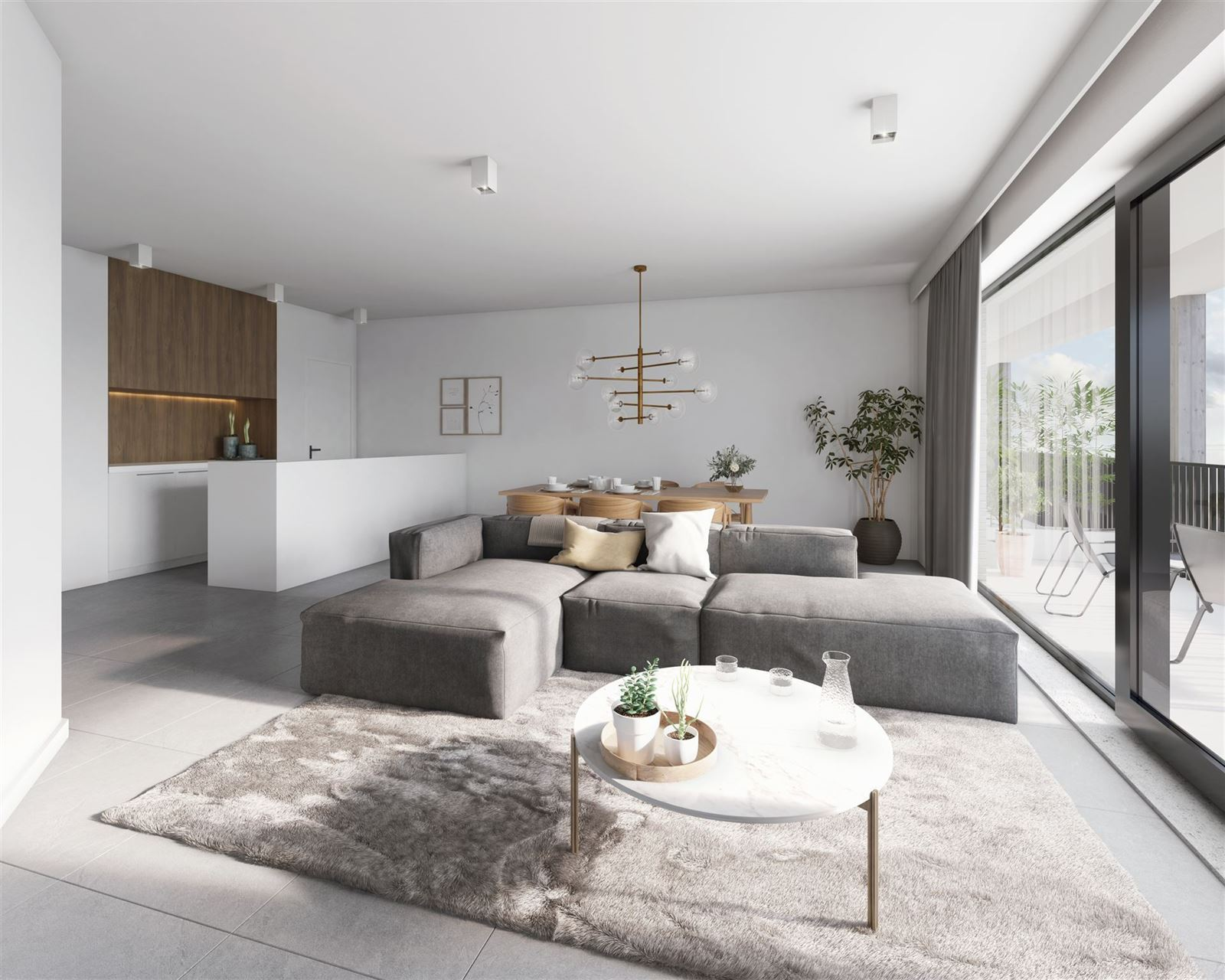 FOTO'S 9 : Appartement te 7090 BRAINE-LE-COMTE (België) - Prijs € 215.900