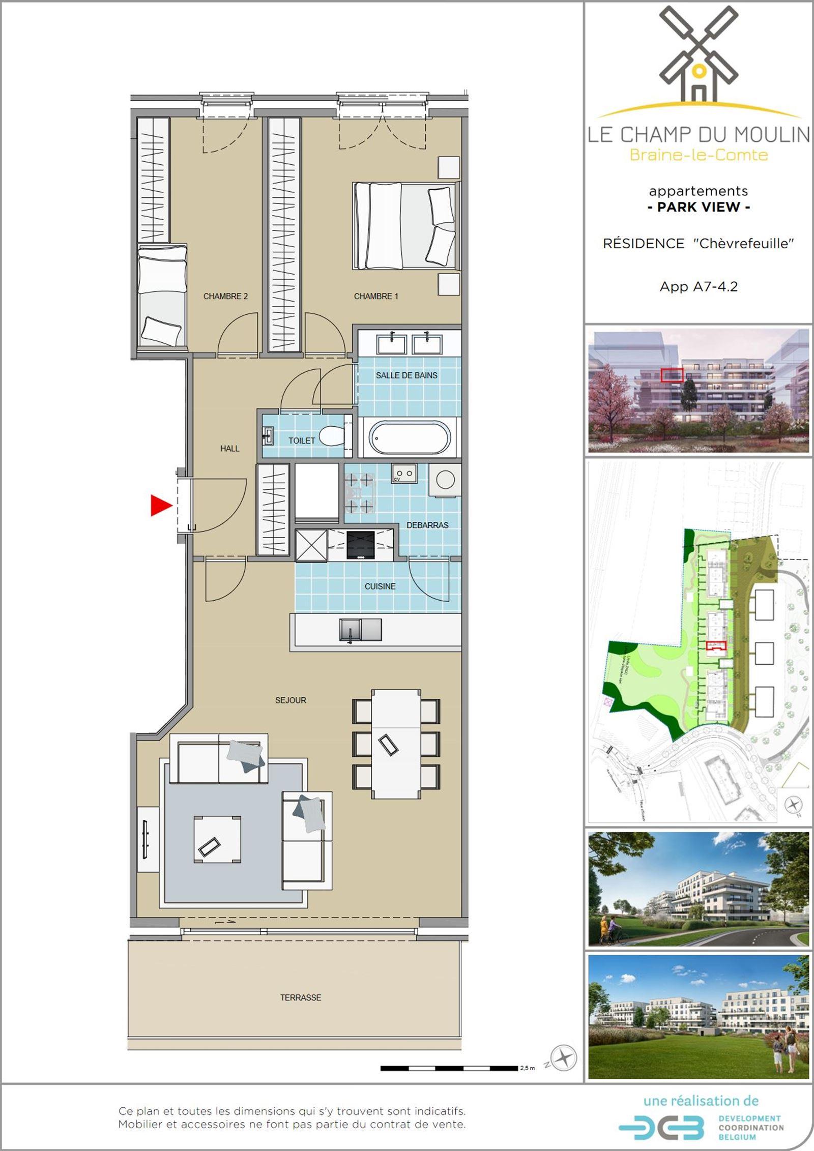 PHOTOS 1 : Appartement à 7090 BRAINE-LE-COMTE (Belgique) - Prix 220.900 €