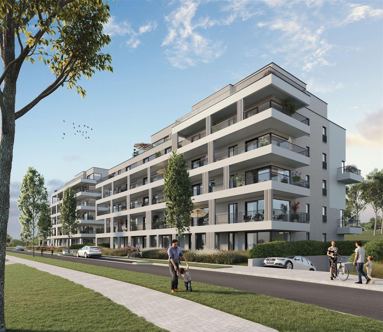 FOTO'S 1 : Appartement te 7090 BRAINE-LE-COMTE (België) - Prijs € 214.900