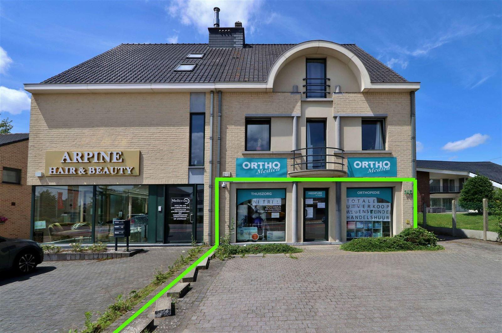 FOTO'S 1 : Bedrijfsgebouw te 1500 HALLE (België) - Prijs € 1.550