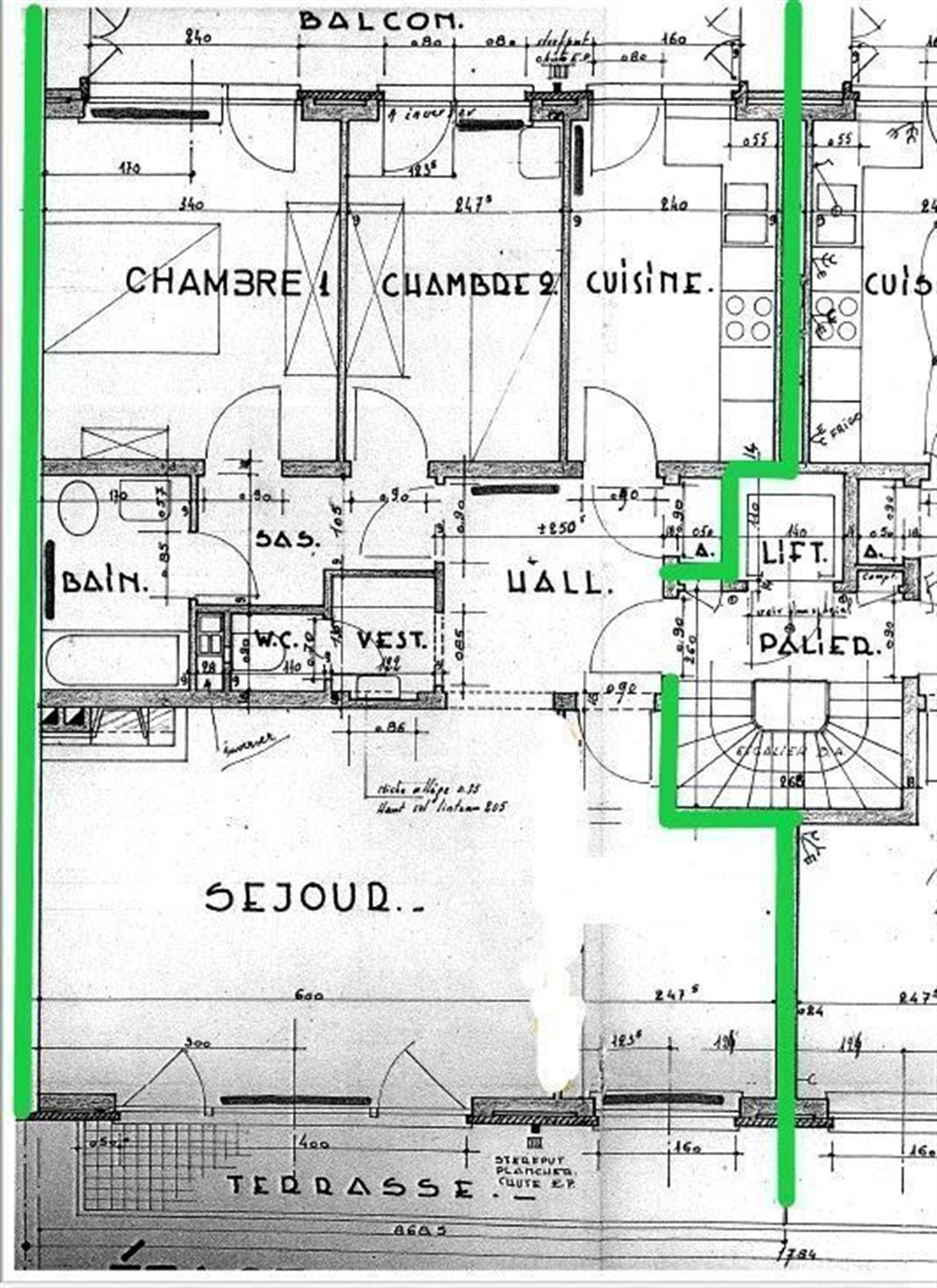 FOTO'S 5 : Appartement te 1630 LINKEBEEK (België) - Prijs € 290.000
