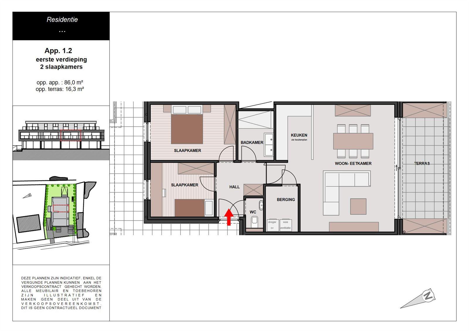 PHOTOS 1 : Appartement à 1755 LEERBEEK (Belgique) - Prix 299.000 €