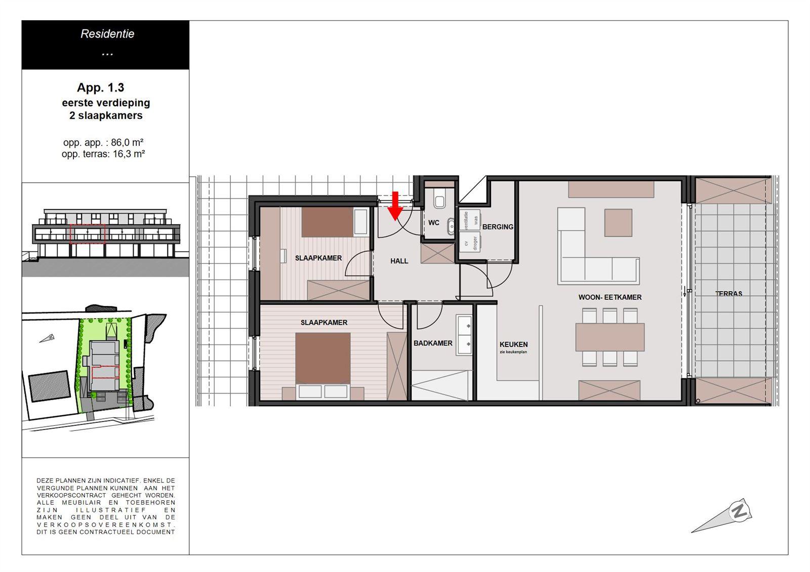 PHOTOS 5 : Appartement à 1755 LEERBEEK (Belgique) - Prix 289.900 €