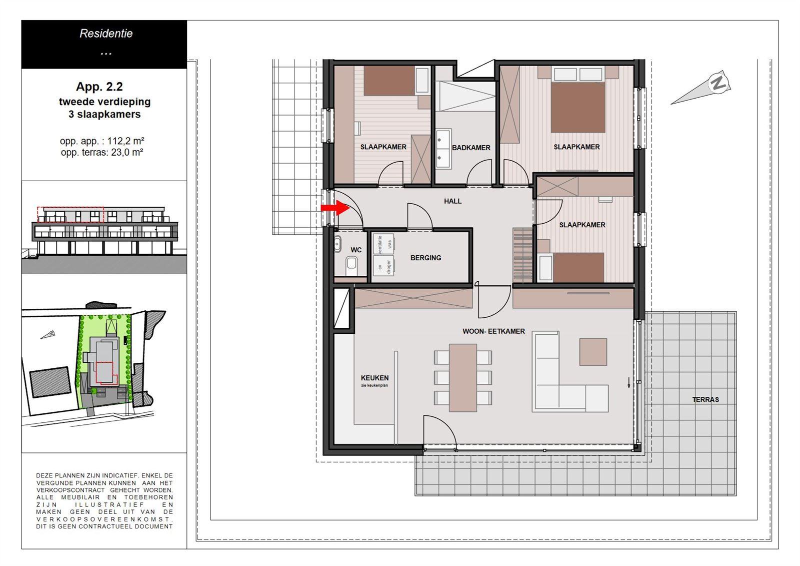 PHOTOS 1 : Appartement à 1755 LEERBEEK (Belgique) - Prix 349.900 €