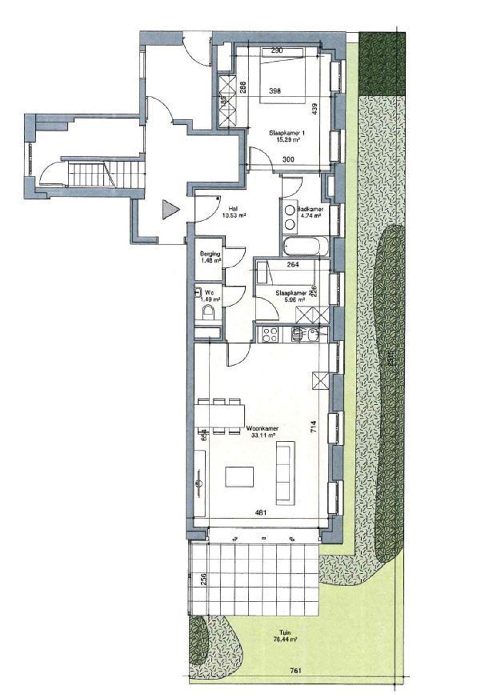 FOTO'S 3 : Appartement te 1651 LOT (België) - Prijs € 295.000