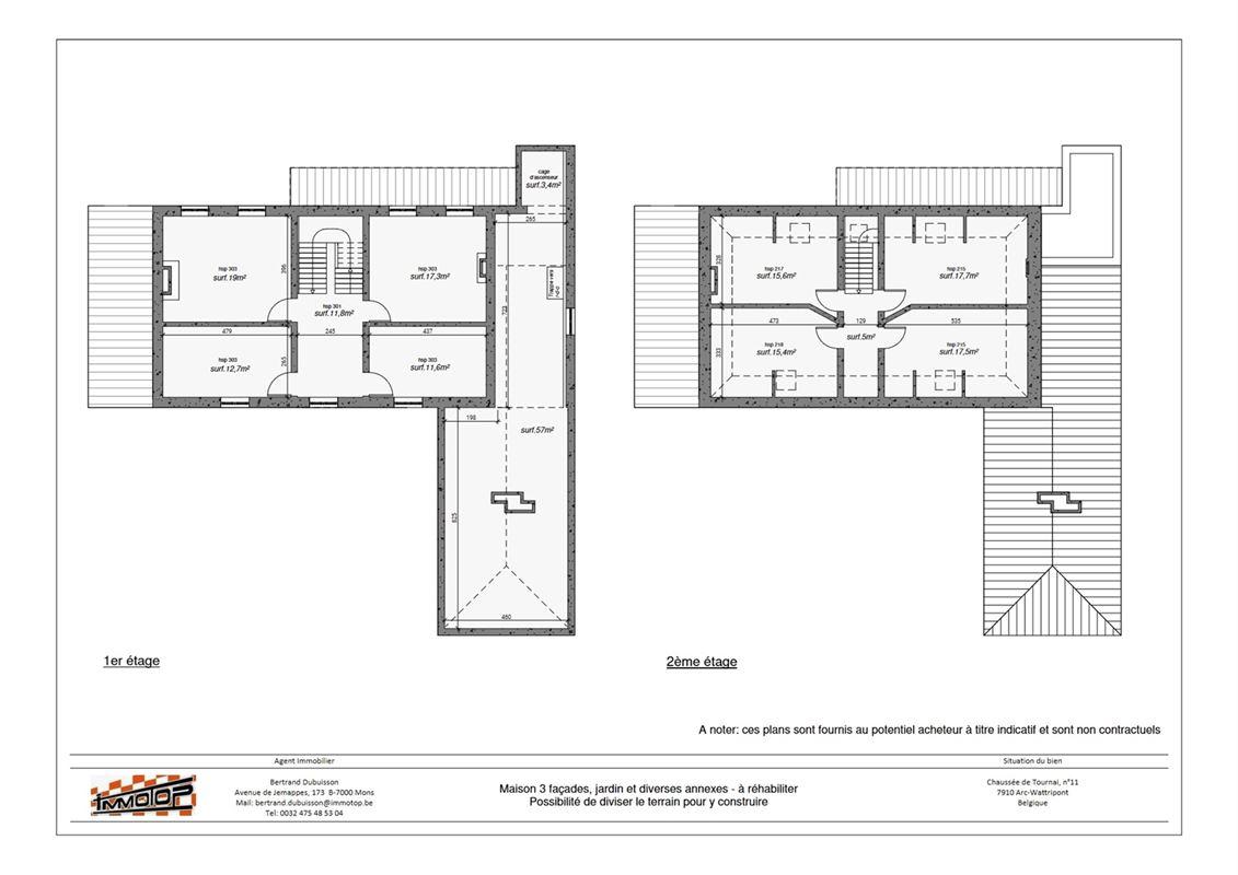 Image 31 : Maison à 7500 TOURNAI (Belgique) - Prix 280.000 €