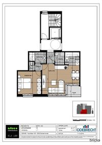 Foto 8 : Nieuwbouw Residentie North 160 te DENDERMONDE (9200) - Prijs