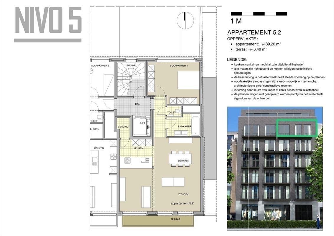 Foto 15 : Appartement te 2000 Antwerpen (België) - Prijs € 365.000